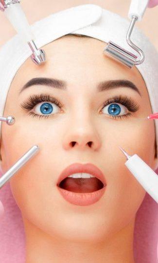 bb glow mulher procedimento rosto