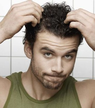 capilar homem queda de cabelo
